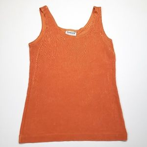 Chicos Travelers 0 Tank Top Slinky Knit Shell S